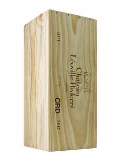 Château Léoville Poyferré 2017 Original wooden case of one double magnum (1x300cl)