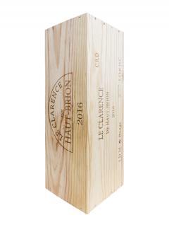 Le Clarence de Haut-Brion 2016 Original wooden case of one double magnum (1x300cl)