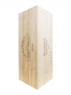 Le Clarence de Haut-Brion 2016 Original wooden case of one impériale (1x600cl)