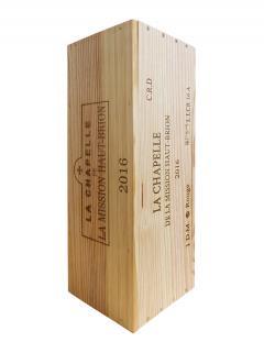 La Chapelle de la Mission Haut-Brion 2016 Original wooden case of one double magnum (1x300cl)