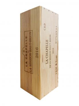 La Chapelle de la Mission Haut-Brion 2016 Original wooden case of one double magnum (1x300cl)