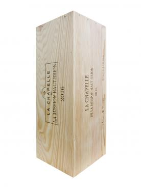 La Chapelle de la Mission Haut-Brion 2016 Original wooden case of one impériale (1x600cl)