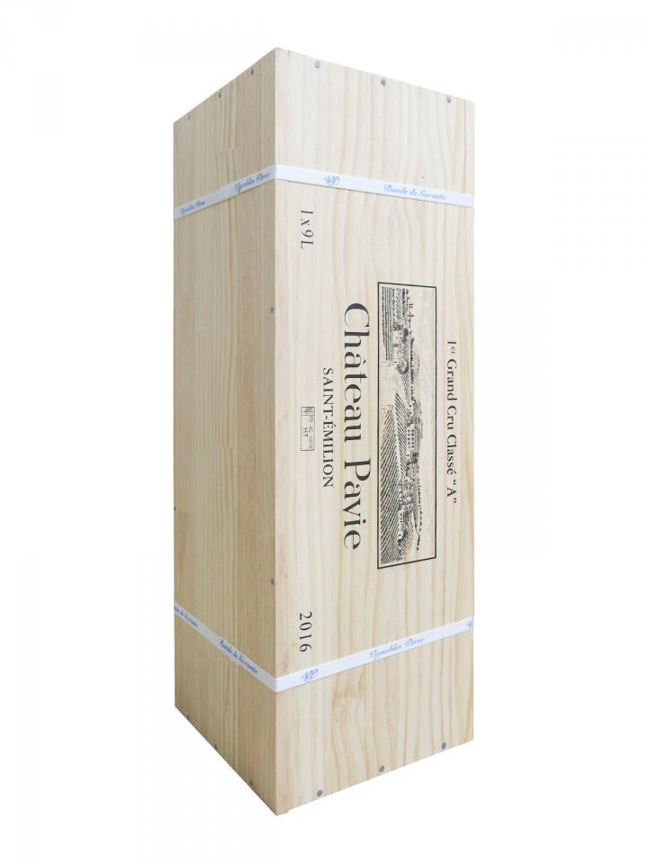 Château Pavie 2016 Original wooden case of one salmanazar (1x900cl)