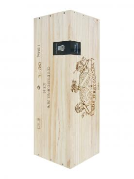 Château Cos d'Estournel 2016 Original wooden case of one double magnum (1x300cl)