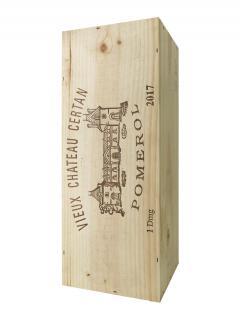 Vieux Château Certan 2017 Original wooden case of one double magnum (1x300cl)