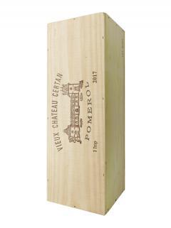 Vieux Château Certan 2017 Original wooden case of one impériale (1x600cl)
