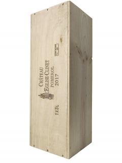 Château l'Eglise-Clinet 2017 Original wooden case of one double magnum (1x300cl)