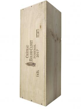 Château l'Eglise-Clinet 2017 Original wooden case of one double magnum (1x300cl)