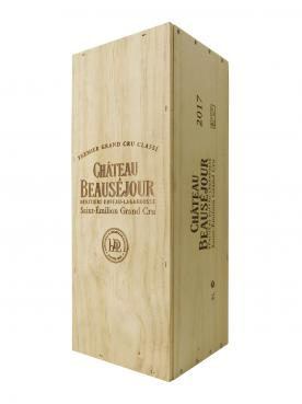 Château Beauséjour Duffau Lagarrosse 2017 Original wooden case of one double magnum (1x300cl)