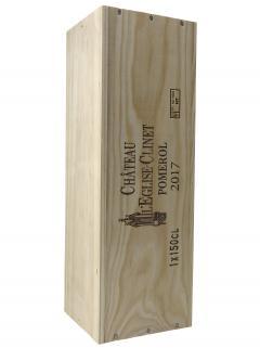 Château l'Eglise-Clinet 2017 Original wooden case of one magnum (1x150cl)