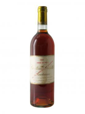 Château Gilette Crème de Tête 1961 Bottle (75cl)