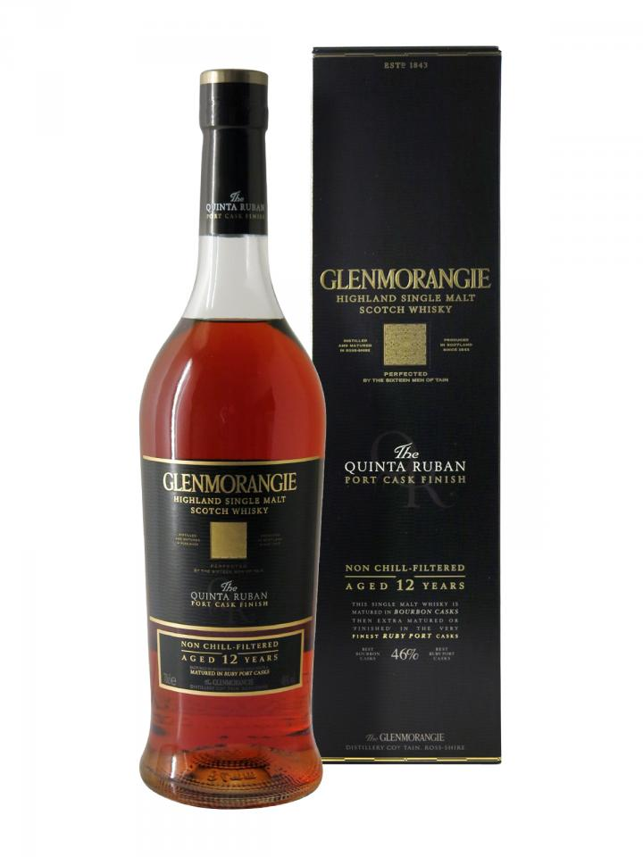 Whisky The Quinta Ruban Port Extra Matured 12 years Glenmorangie Non vintage Coffret d'une bouteille (70cl)