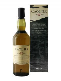 Whisky 12 years Caol Ila Non vintage Coffret d'une bouteille (70cl)