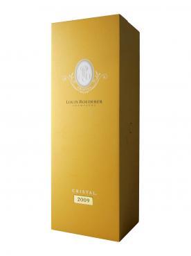 Champagne Louis Roederer Cristal Brut 2009 Original wooden case of one magnum (1x150cl)