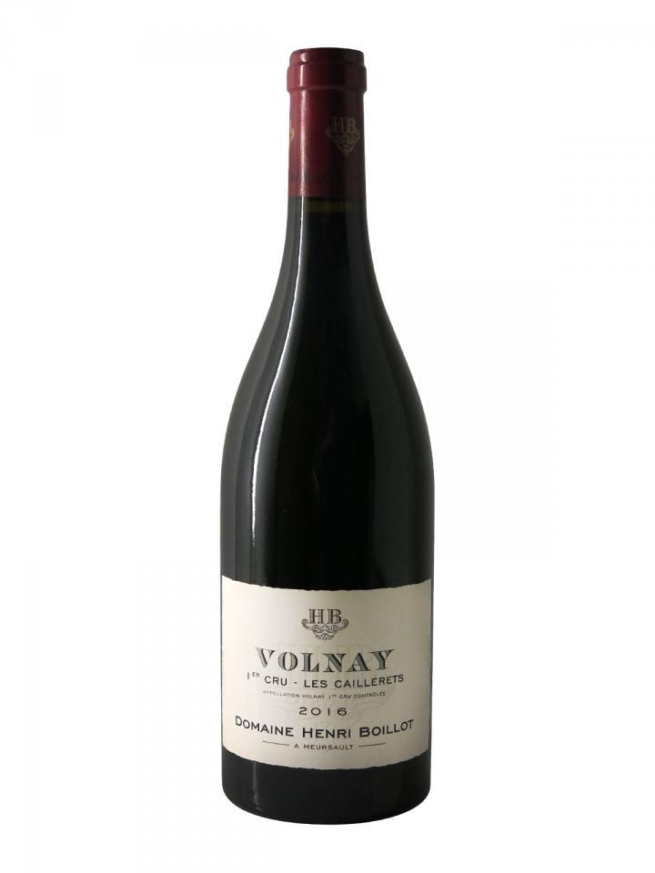 Volnay 1er Cru Les Caillerets Domaine Henri Boillot 2016 Bottle (75cl)