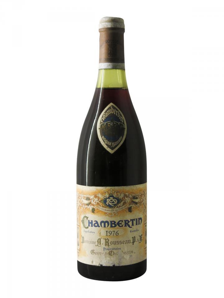 Chambertin Grand Cru Domaine Armand Rousseau 1976 Bottle (75cl)