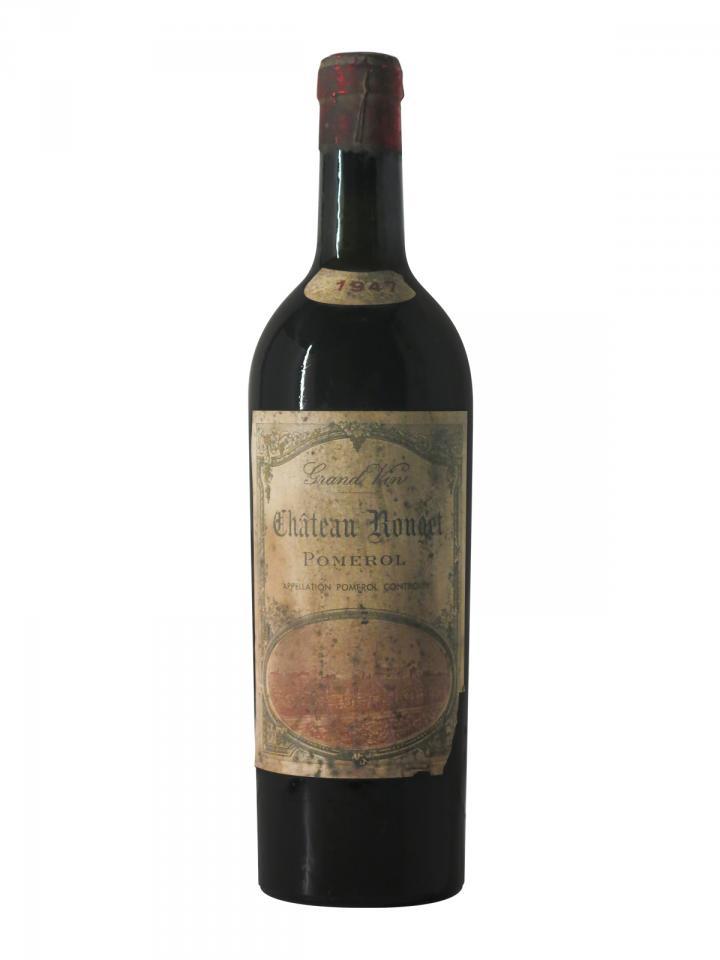 Château Rouget 1947 Bottle (75cl)