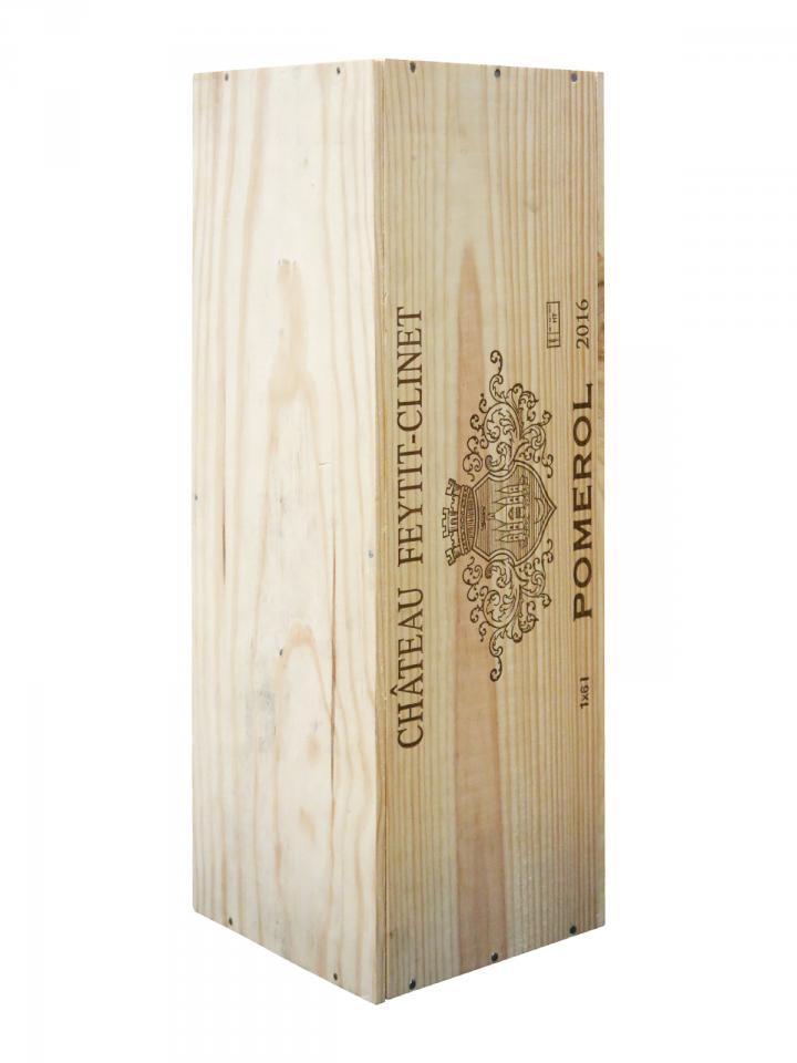 Château Feytit-Clinet 2016 Original wooden case of one impériale (1x600cl)