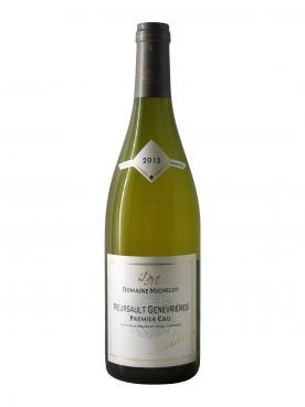 Meursault 1er Cru Genevrières Domaine Michelot 2013 Bottle (75cl)