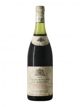 Vosne-Romanée Aux Reignots Bouchard Père & Fils Comte Liger-Belair 1976 Bottle (75cl)