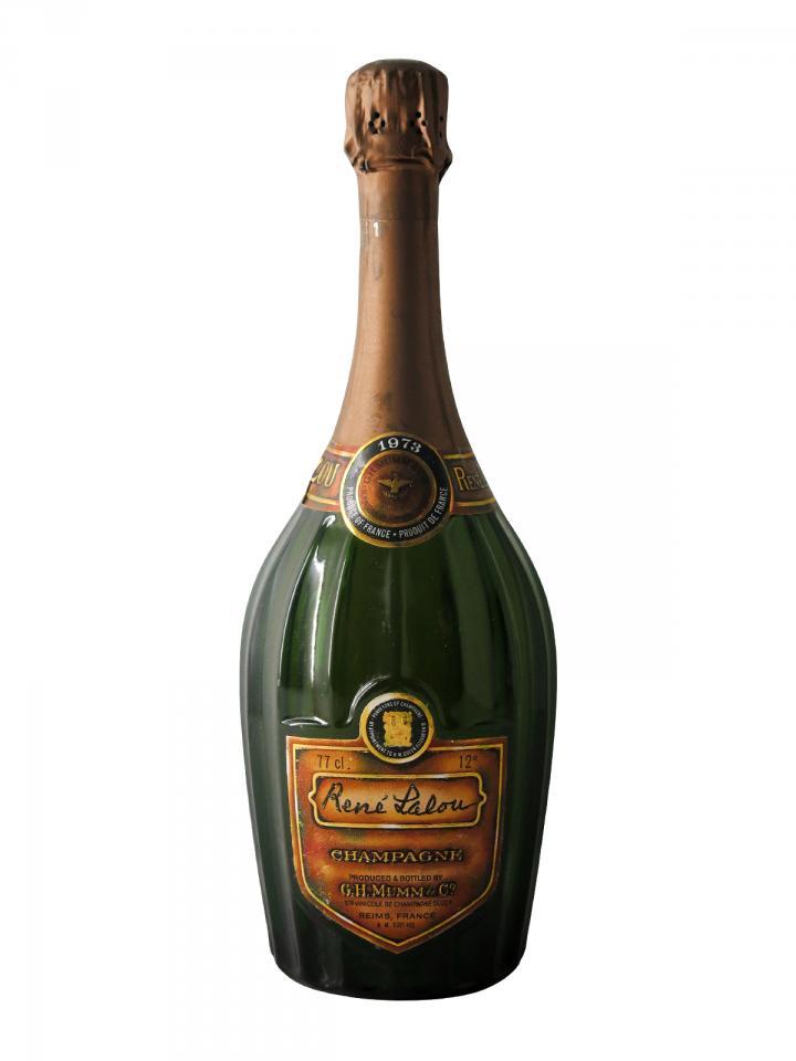 Champagne G.H Mumm René Lalou Brut 1973 Bottle (75cl)