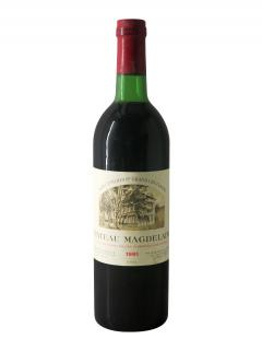 Château Magdelaine 1981 Bottle (75cl)