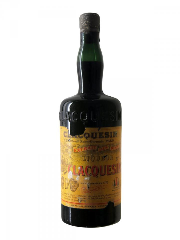 Clacquesin Extrait des Pins Unknown Period 1930-1940s Bottle (100cl)