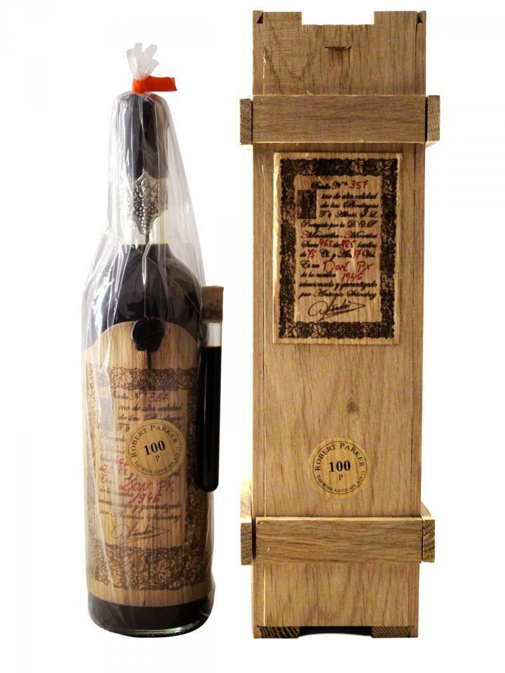 Liqueur Don PX Convento Seleccion Toro Albala 1946 Original wooden case of 1 bottle (1x75cl)