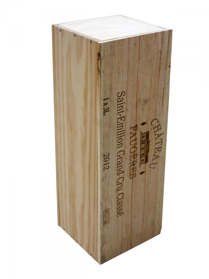 Château Faugères 2012 Original wooden case of one double magnum (1x300cl)