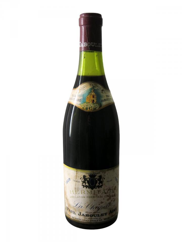 Hermitage Domaine Jaboulet La Chapelle 1969 Bottle (75cl)