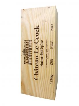 Château Le Crock 2013 Original wooden case of one double magnum (1x300cl)