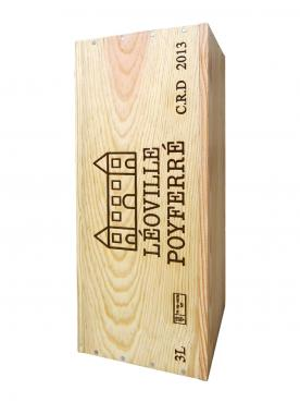 Château Léoville Poyferré 2013 Original wooden case of one double magnum (1x300cl)