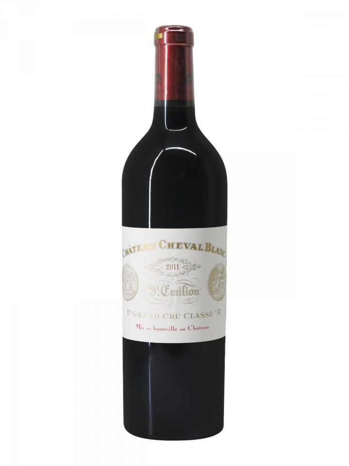 Château Cheval Blanc 2011 Original wooden case of 6 bottles (6x75cl)