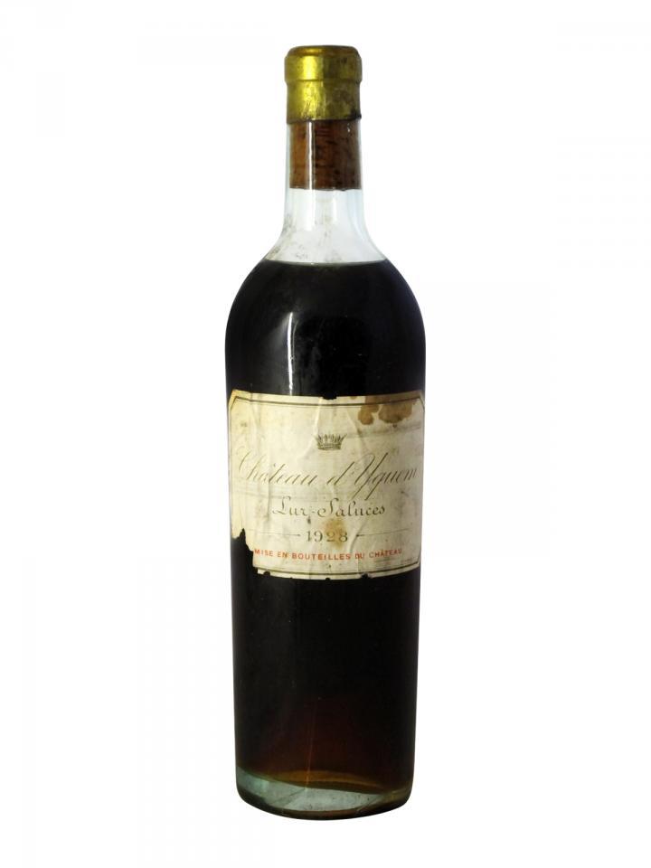 Château d'Yquem 1928 Bottle (75cl)