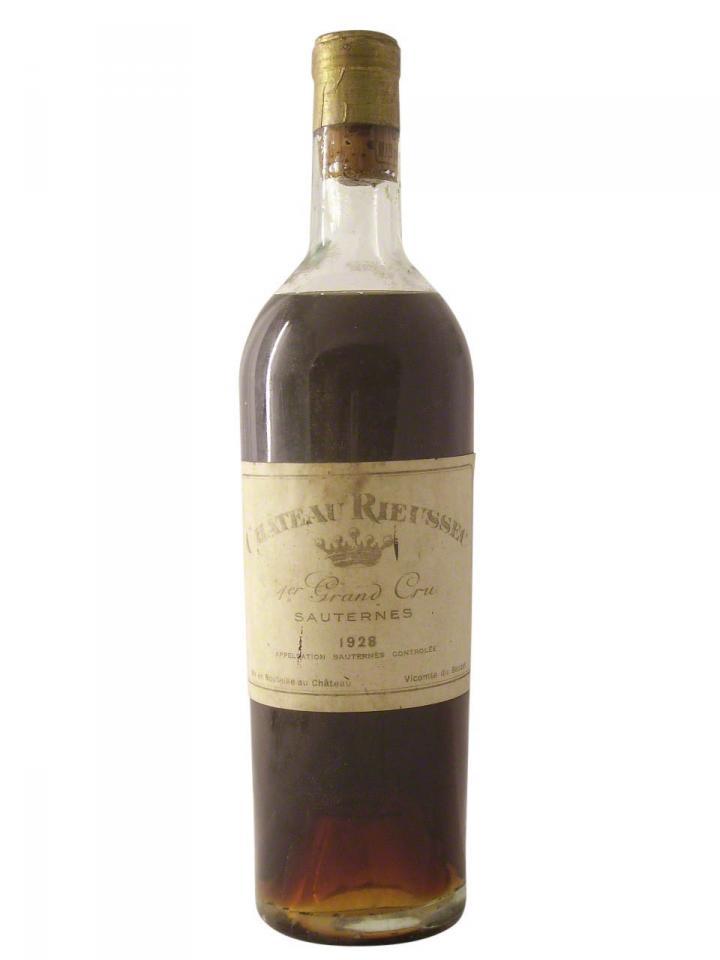 Château Rieussec 1928 Bottle (75cl)