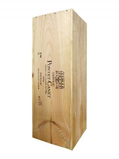 Château Pontet-Canet 2014 Original wooden case of one salmanazar (1x900cl)
