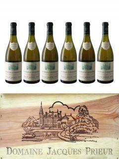 Meursault 1er Cru Perrières Domaine Jacques Prieur  2001 Original wooden case of 6 bottles (6x75cl)