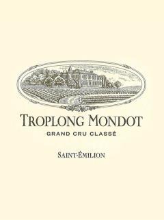 Château Troplong Mondot 2013 Original wooden case of 6 bottles (6x75cl)