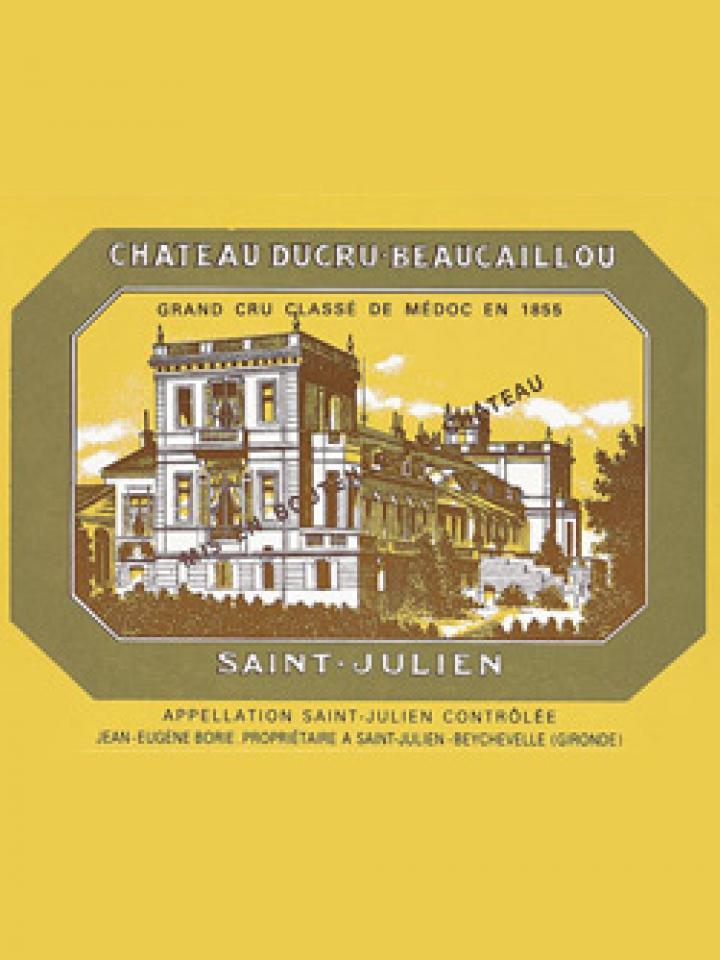 Château Ducru-Beaucaillou 1986 Original wooden case of 6 bottles (6x75cl)