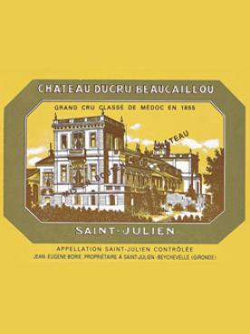 Château Ducru-Beaucaillou 1986 Original wooden case of 6 bottles (6x75cl)