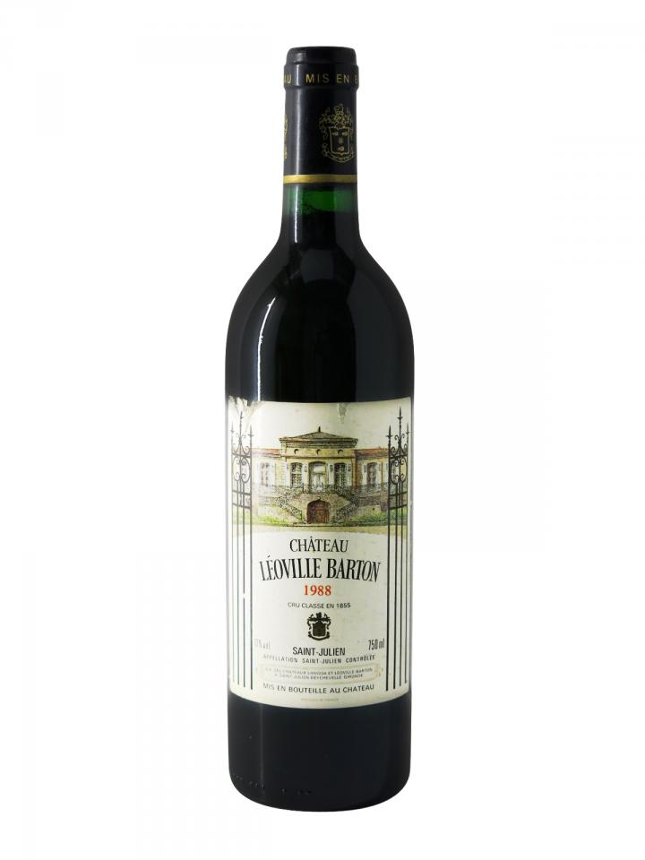 Château Léoville Barton 1988 Bottle (75cl)