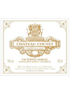 Château Coutet 2012 Original wooden case of 12 half bottles (12x37.5cl)