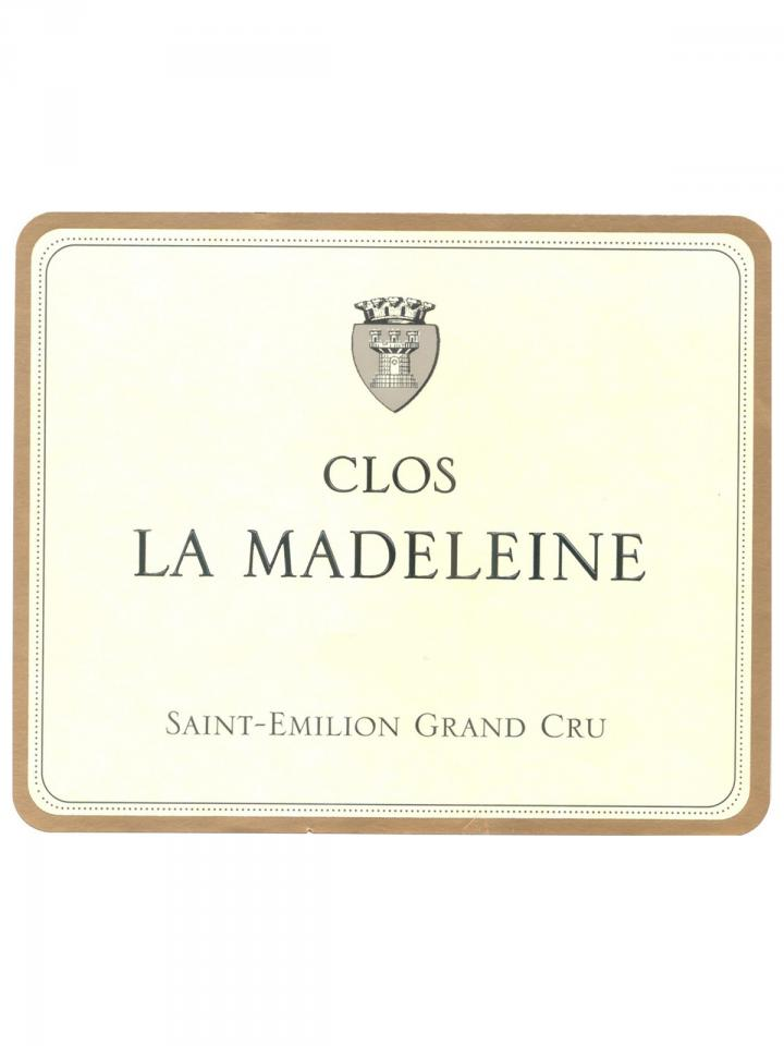 Clos La Madeleine 2013 Original wooden case of 6 bottles (6x75cl)