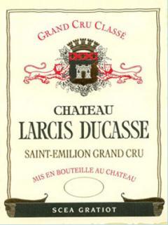 Château Larcis Ducasse 2013 Original wooden case of 6 bottles (6x75cl)