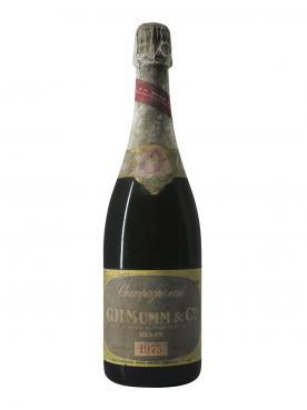 Champagne G.H Mumm Cordon Rosé Brut 1975 Bottle (75cl)