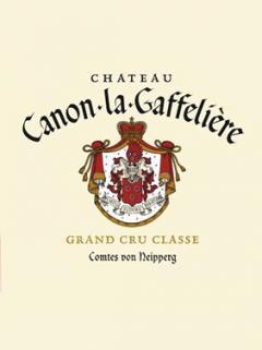 Château Canon-La-Gaffelière 1999 Original wooden case of 12 bottles (12x75cl)