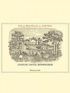 Château Lafite Rothschild 2011 Original wooden case of 12 bottles (12x75cl)