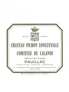 Château Pichon-Longueville Comtesse de Lalande 2010 Original wooden case of 12 bottles (12x75cl)