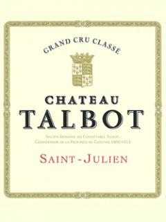 Château Talbot 2000 Original wooden case of 12 bottles (12x75cl)