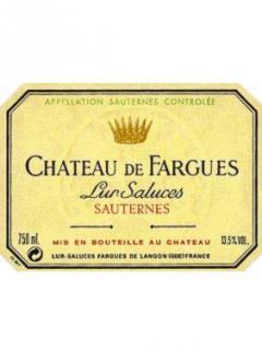 Château de Fargues 2002 Original wooden case of 12 bottles (12x75cl)
